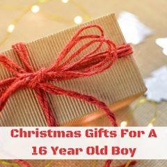 Christmas Gifts For A 16 Year Old Boy #christmasgifts #giftideas #giftsforboys #christmasgiftsforboys