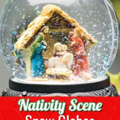 Nativity Scene Snow Globes